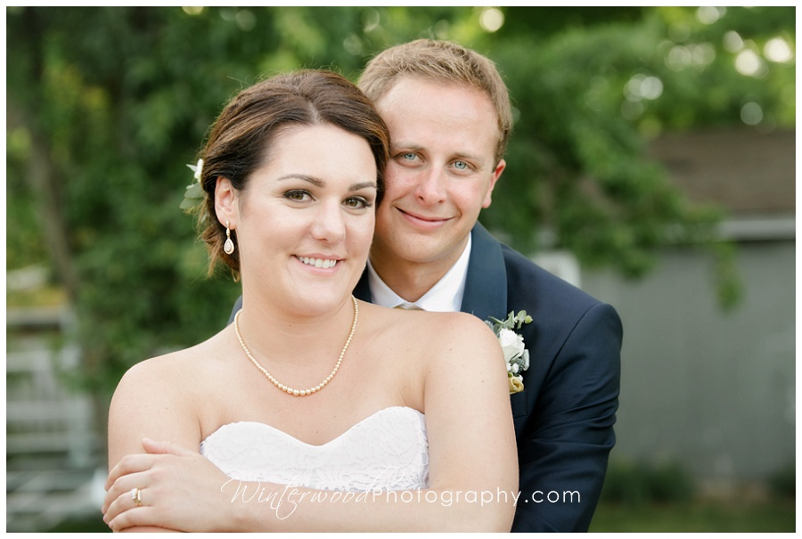 Portraits of Essex Connecticut bride and groom
