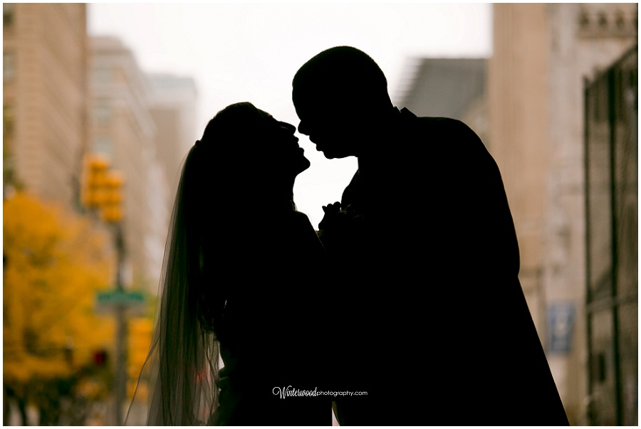 Connecticut Wedding Photographer silhouette