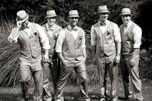 Groomsmen in Wolcott, Connecticut
