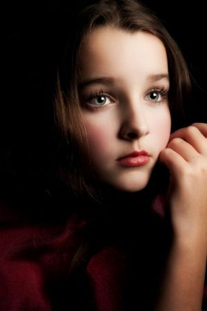 Child portrait by Connecticut portrait photographer